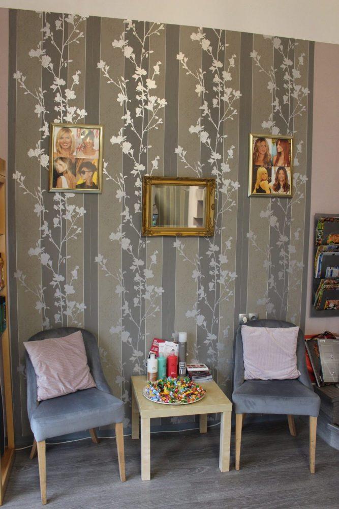 Salon Wartebereich